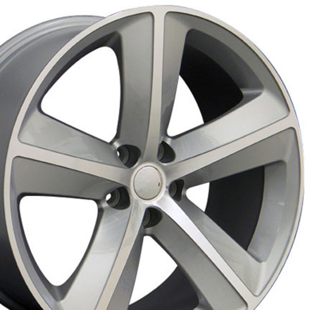 "OE Wheels Dodge Challenger/Charger SRT Replica Wheel - Silver Machined (20""x 9"" - 20mm Offset)"