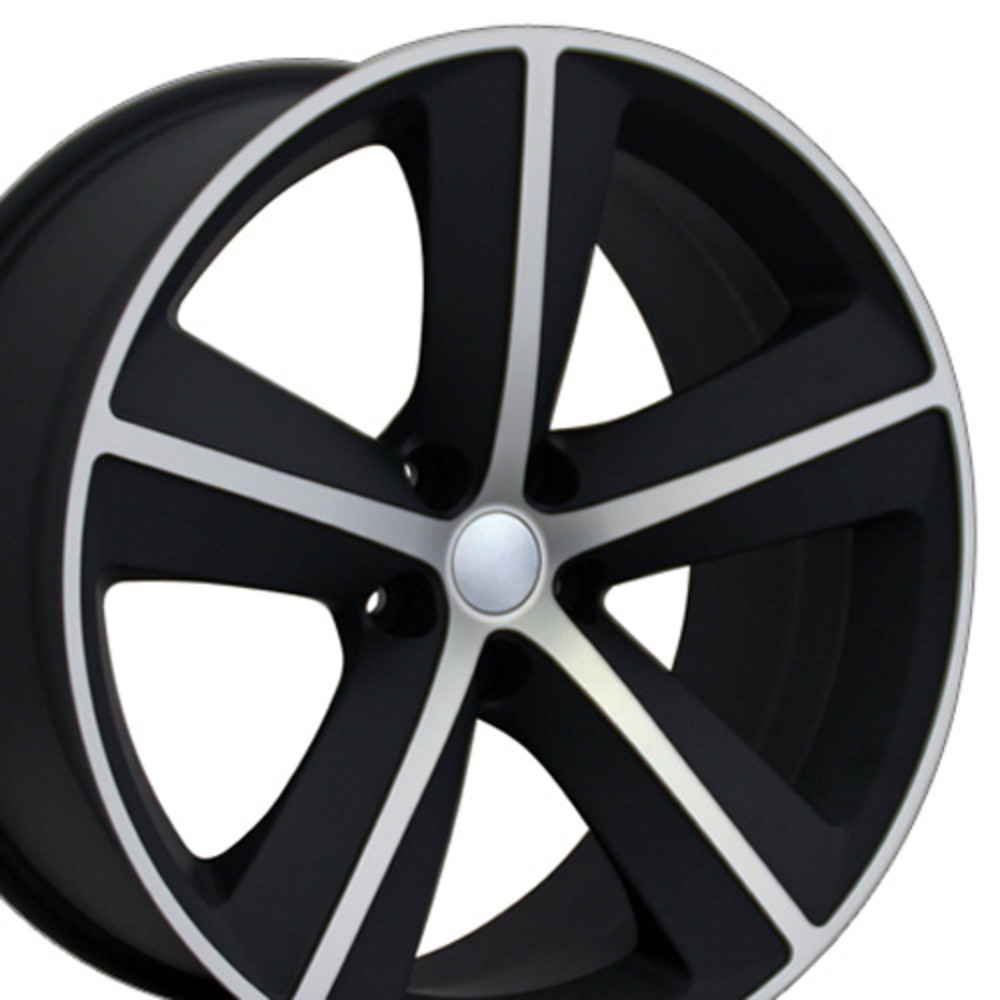 "OE Wheels Dodge Challenger/Charger SRT Replica Wheel - Satin Black Machined (20""x 9"" - 20mm Offset)"